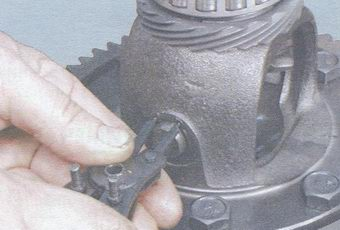 статья про ремонт дифференциала коробки передач на автомобилях ваз 2108, ваз 2109, ваз 21099